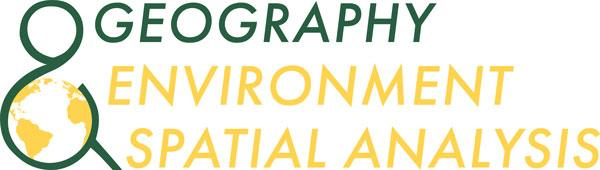 Geography, Environment & Spatial Analysis Logo